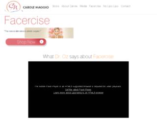 buyfacercise.com screenshot