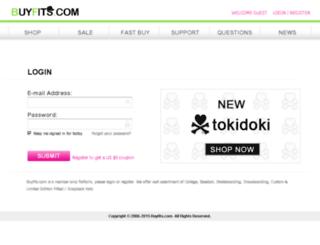 buyfits.com screenshot