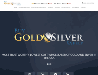 buygoldandsilversafely.com screenshot