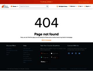 buygreatcourses.co.uk screenshot