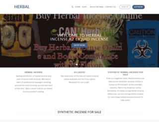 buyherbalincenseonline.com screenshot