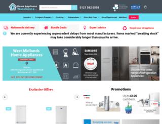 buyhomeappliance.co.uk screenshot
