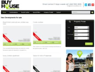 buyhousepattaya.com screenshot