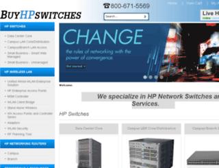 buyhpswitches.com screenshot