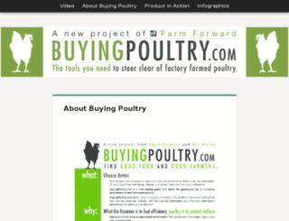 buyingpoultry.bltoutreach.com screenshot