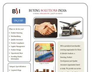 buyingsolutionsindia.com screenshot