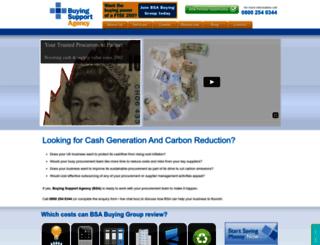 buyingsupport.co.uk screenshot