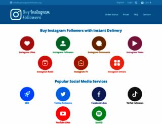 buyinstagramfollowers.org screenshot