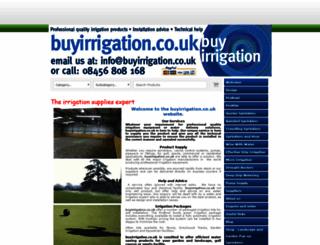 buyirrigation.co.uk screenshot