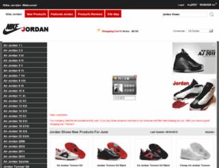buyjordansshoes.net screenshot