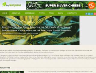buymarijuana.onsisdev.info screenshot