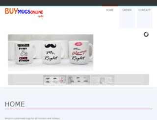 buymugsonline.co.za screenshot