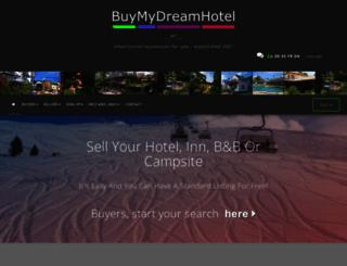 buymydreamhotel.com screenshot