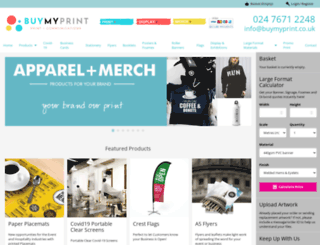 buymyprint.co.uk screenshot