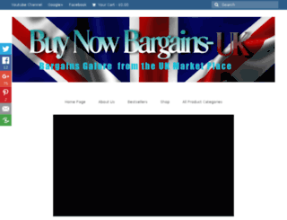 buynowbargains.com screenshot