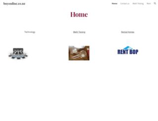 buyonline.co.nz screenshot