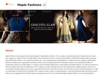 buyonline.maplefashions.com screenshot
