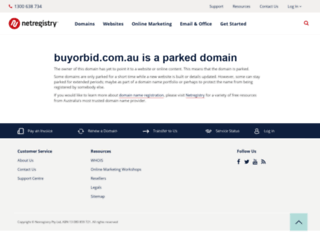 buyorbid.com.au screenshot