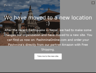 buypashminaonline.com screenshot