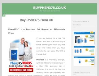 buyphen375.co.uk screenshot