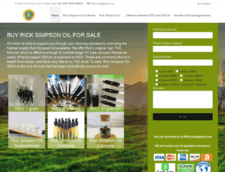 buyricksimpsonoil.com screenshot