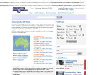 buyselltrailers.com.au screenshot