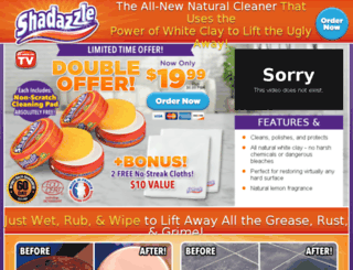 buyshadazzle.com screenshot