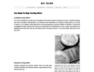buysilverz.com screenshot