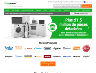 buyspares.fr screenshot