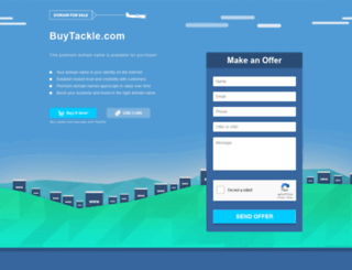 buytackle.com screenshot