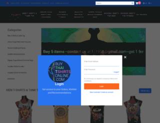 buythaitshirtsonline.com screenshot