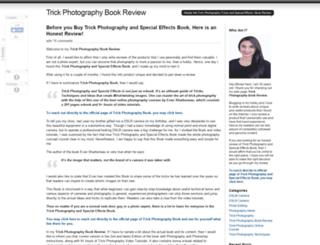 buytrickphotographybook.com screenshot