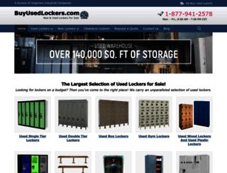 buyusedlockers.com screenshot