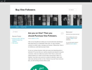 buyvinefollowers99.edublogs.org screenshot
