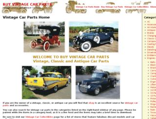 buyvintagecarparts.info screenshot