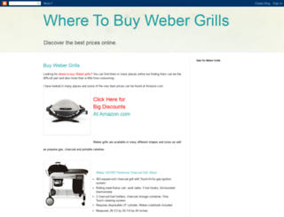 buywebergrills.blogspot.com screenshot