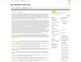 buyweightlosspill.blogspot.com screenshot