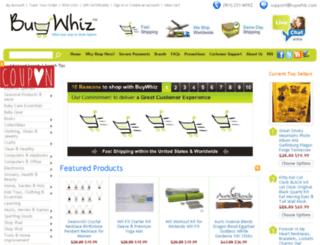 buywhiz.com screenshot