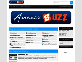 buzz.vunet.fr screenshot