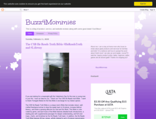 buzz4mommies.blogspot.com screenshot