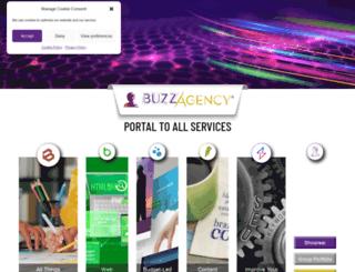 buzzagency.co.uk screenshot