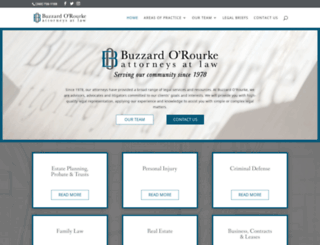 buzzardlaw.com screenshot
