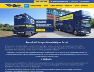 buzzardmovers.co.uk screenshot