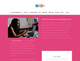 buzzauthor.com screenshot
