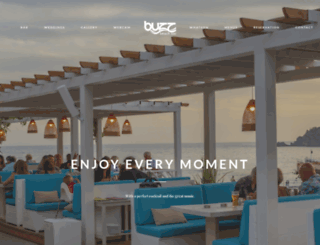 buzzbeachbar.com screenshot