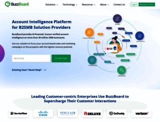 buzzboard.com screenshot