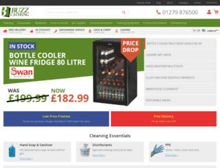 buzzcateringsupplies.com screenshot