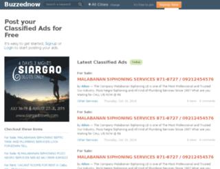 buzzednow.com screenshot