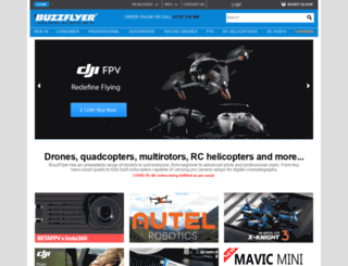 buzzflyer.co.uk screenshot
