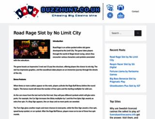 buzzhunt.co.uk screenshot